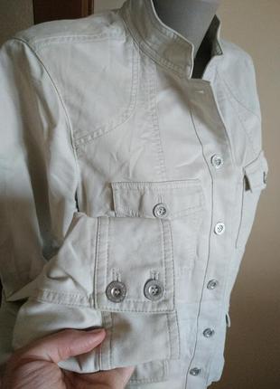 Светлая курточка пиджак большого размера 16(xxl) debenhams!!скидка-15%3