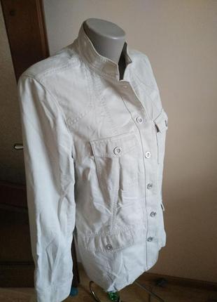 Светлая курточка пиджак большого размера 16(xxl) debenhams!!скидка-15%4