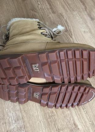 Высокие ботинки caterpillar cat , натуральная кожа! тёплые.3
