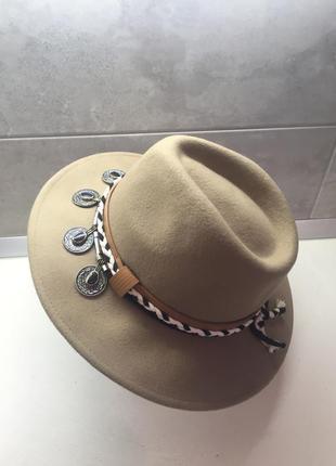 Шляпа 58см шерсть