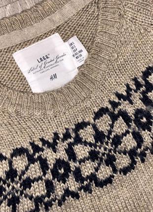 Супер тёплый шерстяной свитерок 💕4