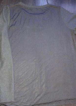 Красивенный свитер с необычной спинкой.2