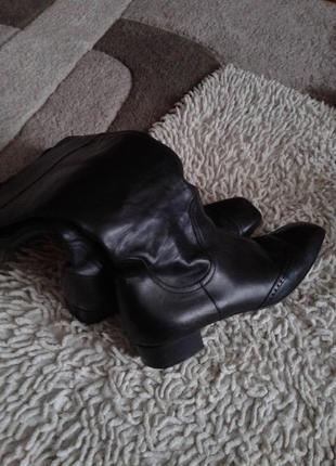 Кожаные сапоги размер 38 по стельке 25 см3