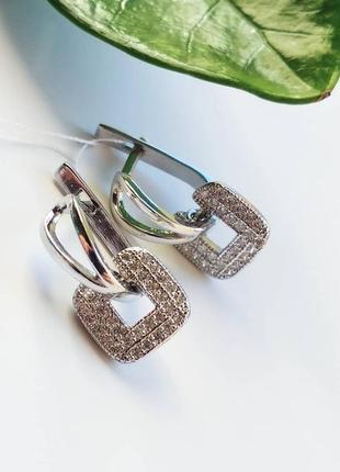 Серебряные серьги1