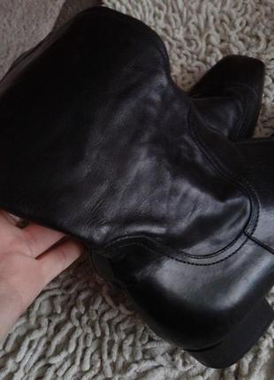 Кожаные сапоги размер 38 по стельке 25 см5