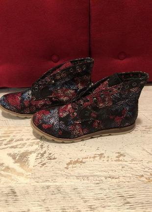Фирменные ботинки на широкую ножку 42р./27-27,5 см3