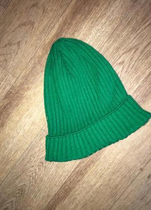 Стильная вязаная шапка,универсальный размер4