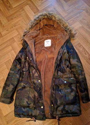 Парка, куртка, пальто pull&bear3