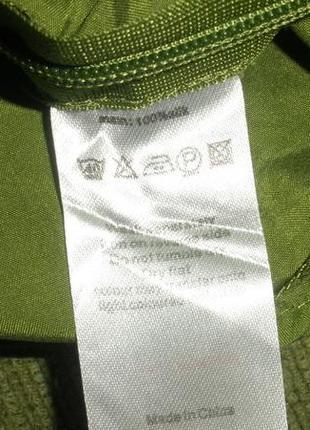 Шикарная изумрудная блуза шелковая 100% шелк monsoon /размер l5