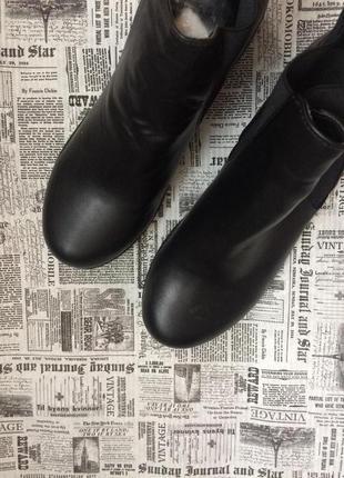 Классные ботинки 38 р esmara5