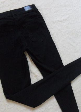 Стильные черные джинсы скинни tally weijl, 4-6 размер.2