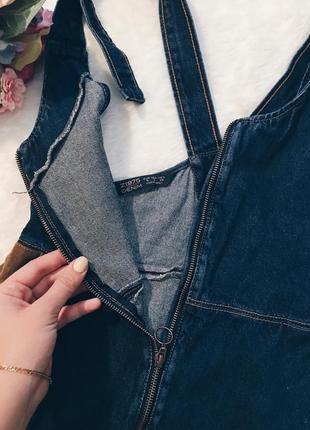 Шикарный джинсовый комбез(комбинезон юбка) xs-s,m размер идеал!3