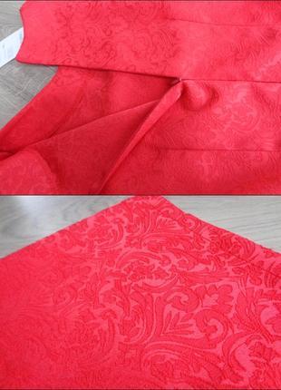 Нарядное красное платье (все размеры и расцветки)3