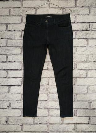 Плотные джинсы высокой посадкой от m&s 12р1