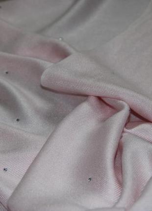 Шикарный нежно розовый палантин- шаль2