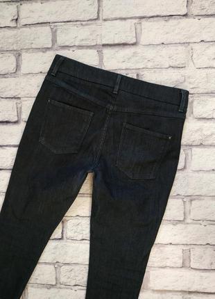 Плотные джинсы высокой посадкой от m&s 12р3