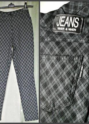 Бомбезные стрейчевые штаны с посадкой на талии, 95% хлопка5