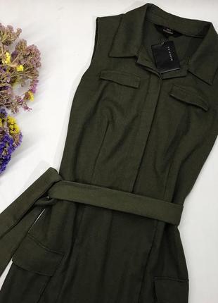 Платье из плотной ткани3
