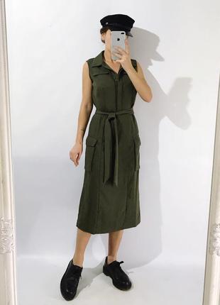 Платье из плотной ткани4