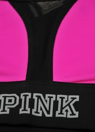 Шикарний спортивний комплект pink sports від від victoria's secret. xs/s3