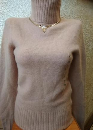 Тёплый гольф свитер кофта h&m  ангора з шерстю1