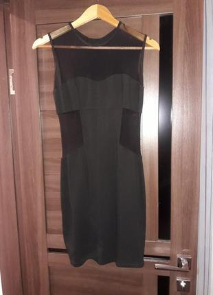 Платье черное1