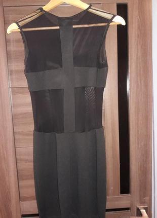 Платье черное2