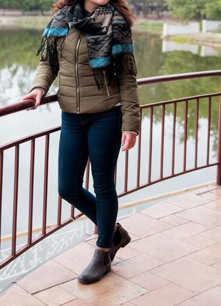 Темно-синие джинсы-скинни hollister оригинал1