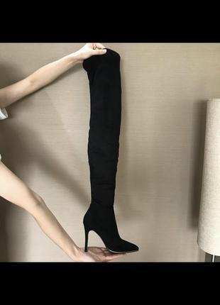 Сапоги ботфорты выше колена3