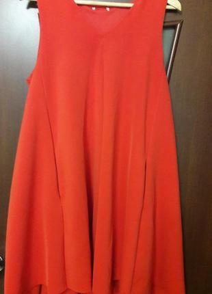 Яркое платье h&m