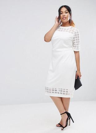 Ліквідація товару до 29 грудня 2018 !!!  платье-футляр миди asos curve1