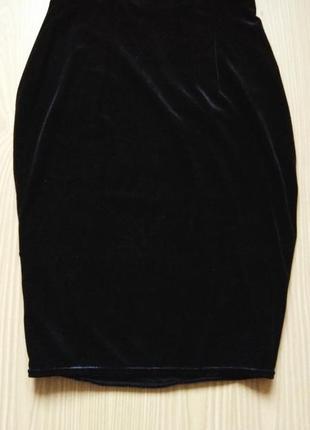 Бархатная юбка1