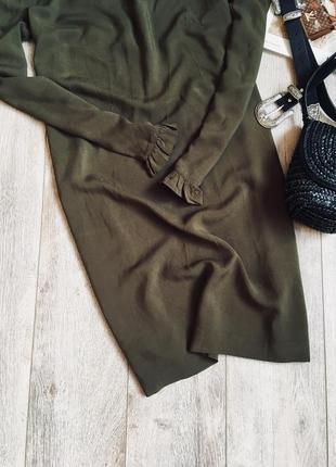 Плаття h&m кольору хакі♥️2