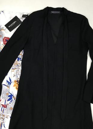 Стильное платье.своьодного кроя из плотной ткани4