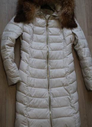 Зимнее пальто пуховик ikaus 48 р, торг1