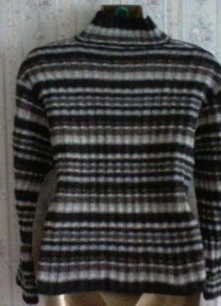 Шерстяной свитер  оверсайз от marc o polo, разм 44-463