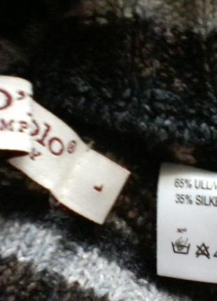 Шерстяной свитер  оверсайз от marc o polo, разм 44-464