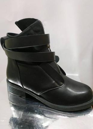 Ботинки женские  пряжка , ботинки женские осень3