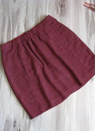 Тепленькая мини юбка esprit размер eur 36 / 381
