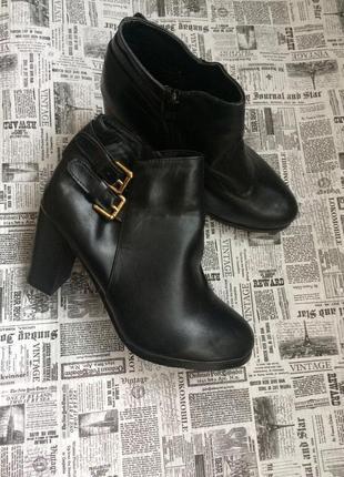 Шикарные ботинки 38 р esmara2