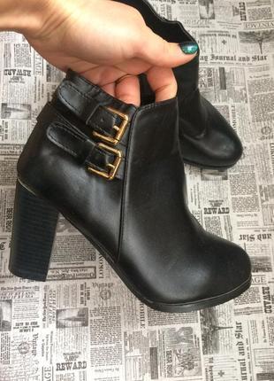 Шикарные ботинки 38 р esmara1