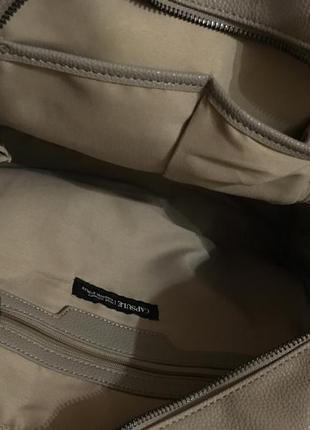 Очень крутая сумка хаки, качественный заменитель кожи2