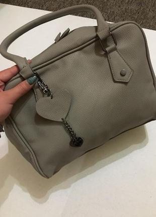 Очень крутая сумка хаки, качественный заменитель кожи4