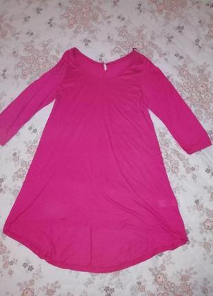 Платье-туника с удлинением сзади next размер uk 20 eur 48 морокко1
