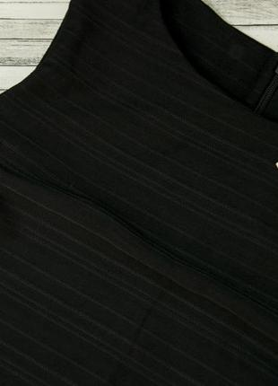 Черное фактурное платье next3