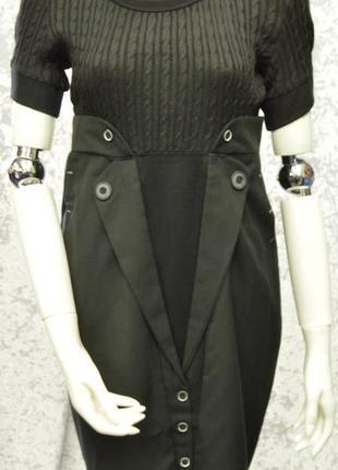 Комбинированное платье cop copine