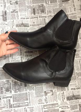 Крутые ботинки 41 р esmara5