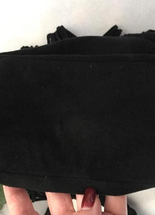 Трендовая сумка кросс боди с бахрамой от h&m4