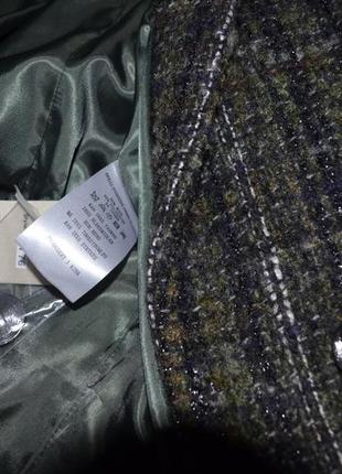 Пальто осеннее шерстяное donna кокон оверсайз s 8 36 италия4