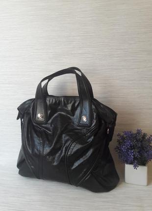 Кожаная женская сумка francesco biasia1